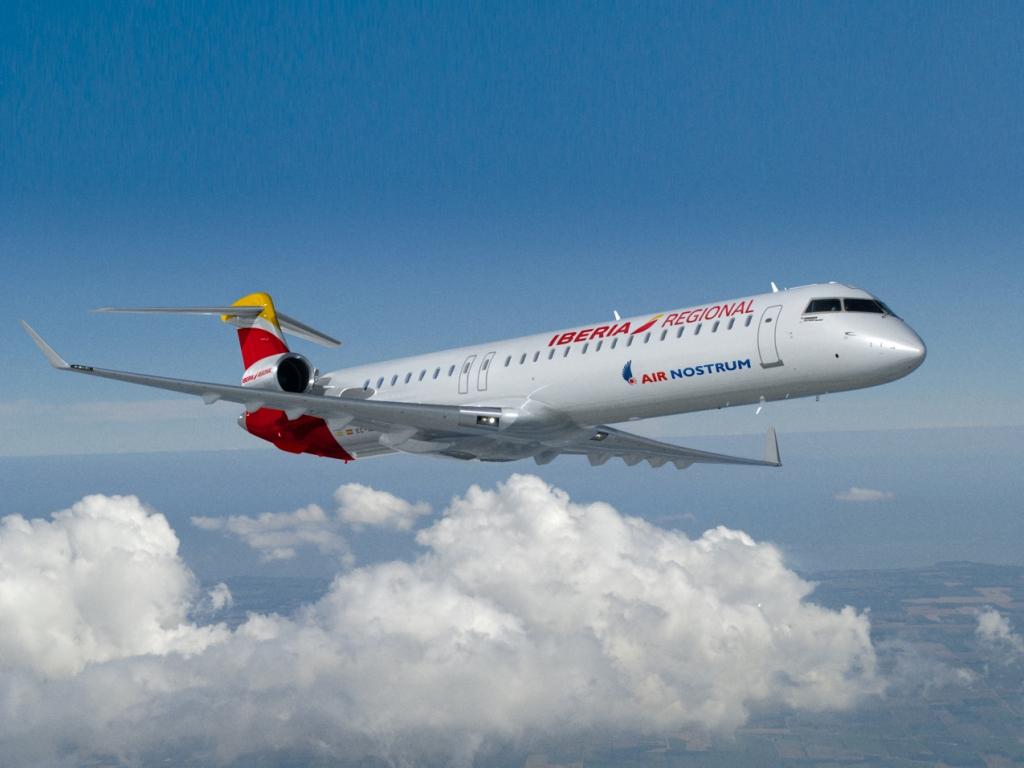 Air Nostrum CRJ1000 Iberia Regional Air Nostrum